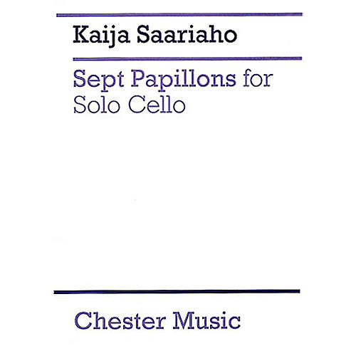 Chester Music 7 Papillons (for Cello Solo) Music Sales America Series