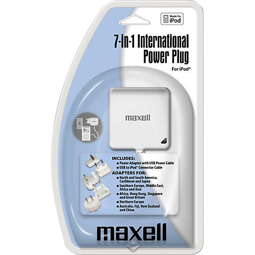 Maxell 7-in-1 International Travel Adapter