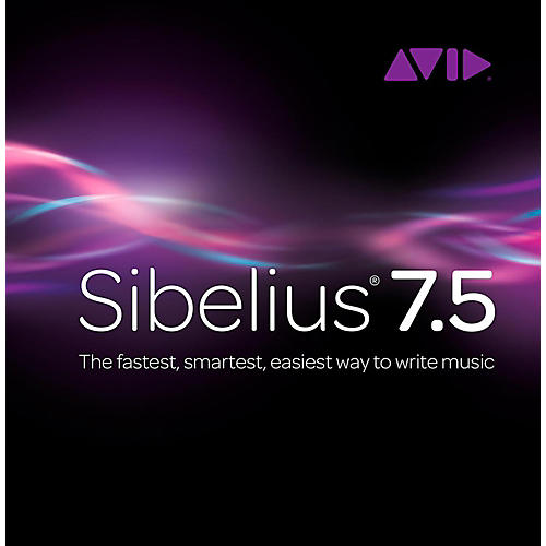 Sibelius 7.5 Academic + PhotoScore/AudioScore Bundle
