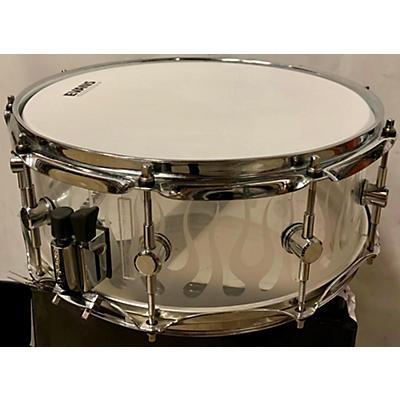 Spaun 7.5X14 Acrylic Snare Drum