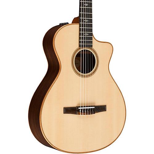 taylor 700 series 712ce n grand concert acoustic electric nylon string guitar natural musician. Black Bedroom Furniture Sets. Home Design Ideas