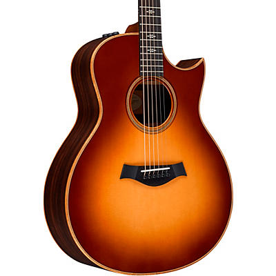 Taylor 700 Series 716ce-WSB-Flor-NoPG Grand Symphony Acoustic-Electric Guitar