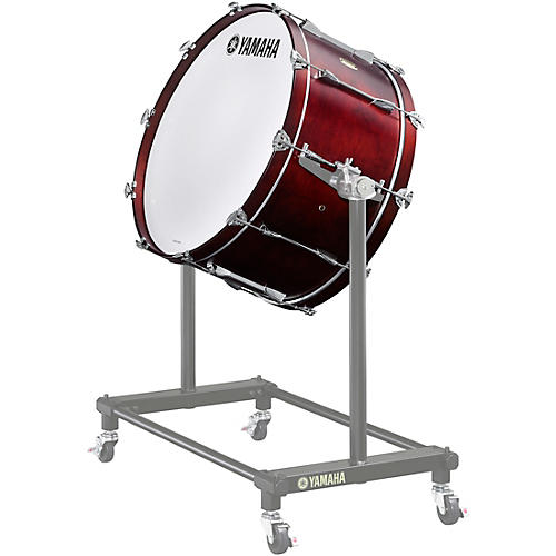Yamaha 7000 Series Intermediate Concert Bass Drum 28 x 14 in. 10 one-piece lugs