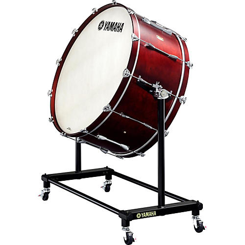 Yamaha 7000 Series Intermediate Concert Bass Drum 36 x 16 in. with BS-7053 Tiltable Stand and Cover
