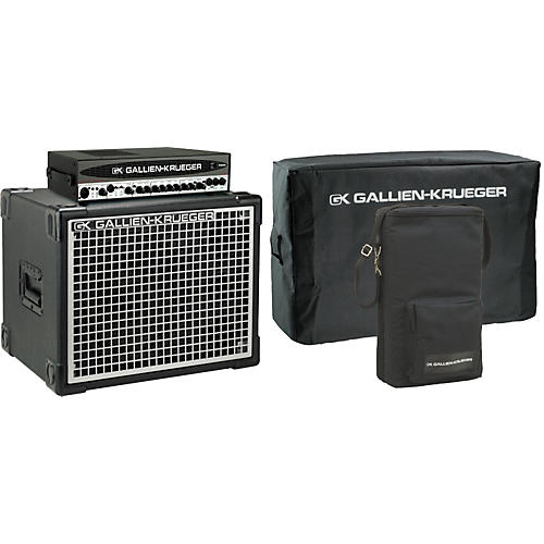 Gallien-Krueger 700RB-II Head/Neo 112 Cabinet Pack with Covers