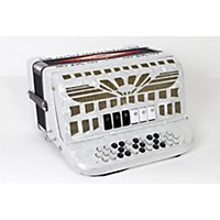 Used Sofiamari Smtt-3412, Two Tone Accordion White Pearl, Fa/Mi 888365914503