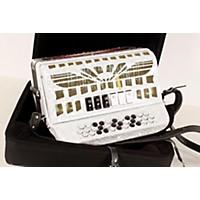 Used Sofiamari Smtt-3412, Two Tone Accordion White Pearl, Sol/Fa 190839017574