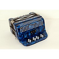 Used Sofiamari Sm-3412 34-Button 12-Bass Accordion Gcf Dark Blue Pearl 888365626628