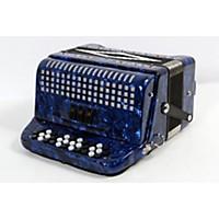 Used Sofiamari Sm-3412 34-Button 12-Bass Accordion Gcf Dark Blue Pearl 888365613499