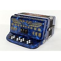 Used Sofiamari Sm-3412 34-Button 12-Bass Accordion Gcf Dark Blue Pearl 190839052339
