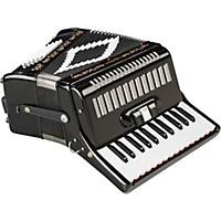 Sofiamari Sm-2648, 26 Piano 48 Bass Accordion Black Pearl