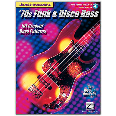 Hal Leonard '70s Funk and Disco Bass (Book/Online Audio)