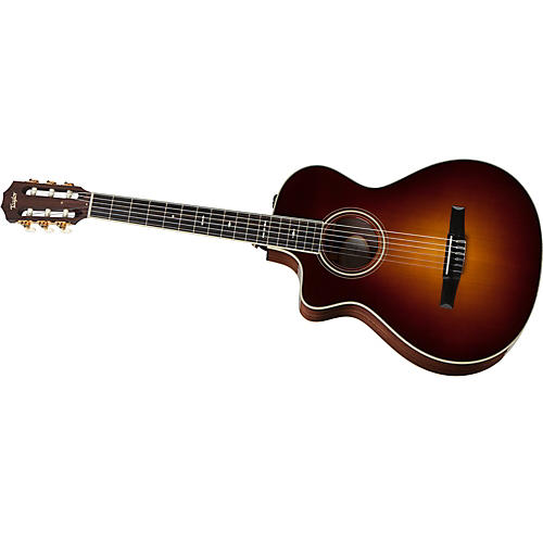 Taylor 712ce-N-L Rosewood/Spruce Nylon String Grand Concert Left-Handed Acoustic-Electric Guitar