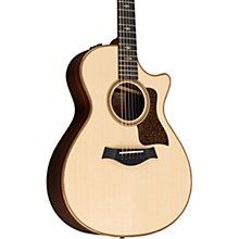Taylor 712ce V-Class Grand Concert Acoustic-Electric Guitar