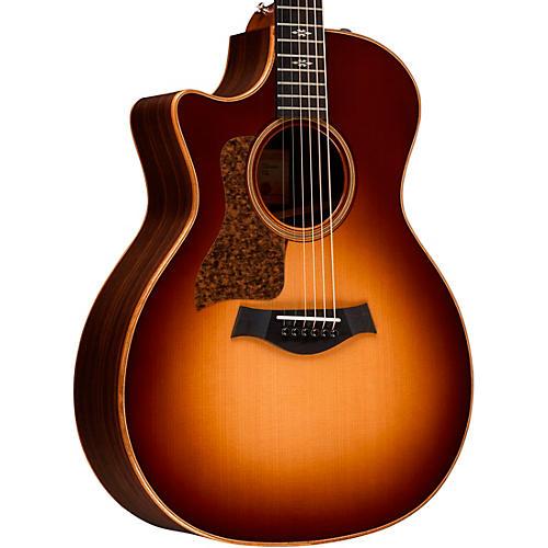 Taylor 714ce-LH V-Class Left-Handed Grand Auditorium Acoustic-Electric Guitar Western Sunburst
