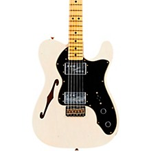 Fender Custom Shop 72 Telecaster Thinline Journeyman Relic Maple Fingeboard Limited Edition Electric Guitar
