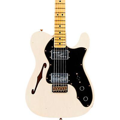 Fender Custom Shop 72 Telecaster Thinline Journeyman Relic Maple Fingeboard Limited Edition Electric Guitar