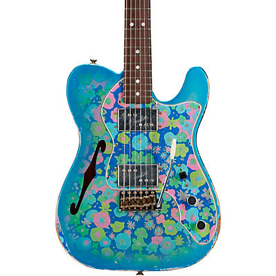 Fender Custom Shop 72 Telecaster Thinline Relic Rosewood Fingeboard Limited Edition Electric Guitar
