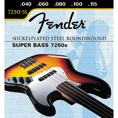 Fender 7250-5L Super Bass 5-String Light Strings