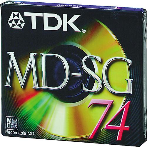 TDK 74-Minute Blank Audio MiniDisc