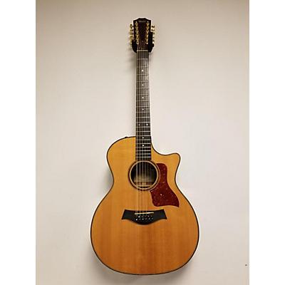 Taylor 754-ce-l1 12 String Acoustic Electric Guitar