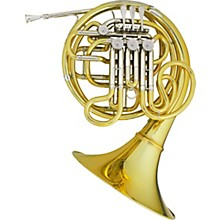 Hans Hoyer 7801A Heritage Kruspe Style Series Double Horn with Mechanical Linkage and Detachable Bell