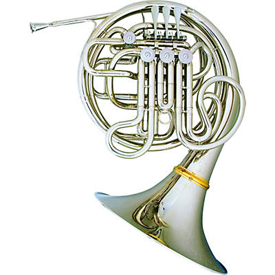 Hans Hoyer 7802NSA Heritage Kruspe Style Series Double Horn with String Linkage and Detachable Bell