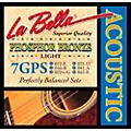 LaBella 7GPS Phosphor Bronze Light Acoustic Guitar Strings thumbnail