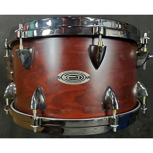 Orange County Drum & Percussion 7X13 Maple Drum CHESTNUT ASH 16