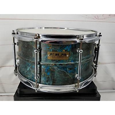 Pork Pie 7X14 BRASS PATINA Drum