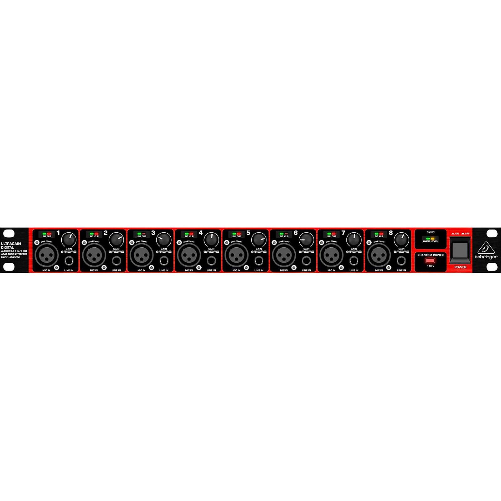 Behringer 8-Channel Microphone Preamp AD/DA Converter w/MIDAS
