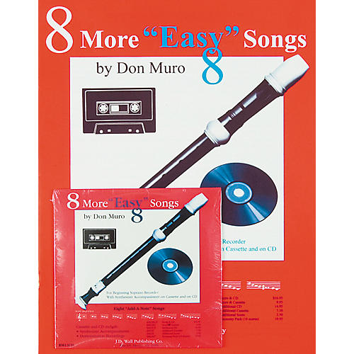 Magnamusic 8 More Easy 8 Songs/2 Scores with CD and Tape