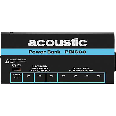 Acoustic 8 Output Isolated Power Bank