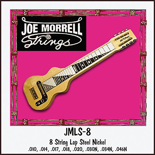 Morrell Music 8-String Lap Steel String Set