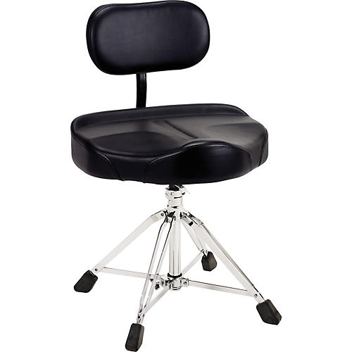 DW 8000 Series 4-Leg Tractor-Seat Drum Throne with Backrest