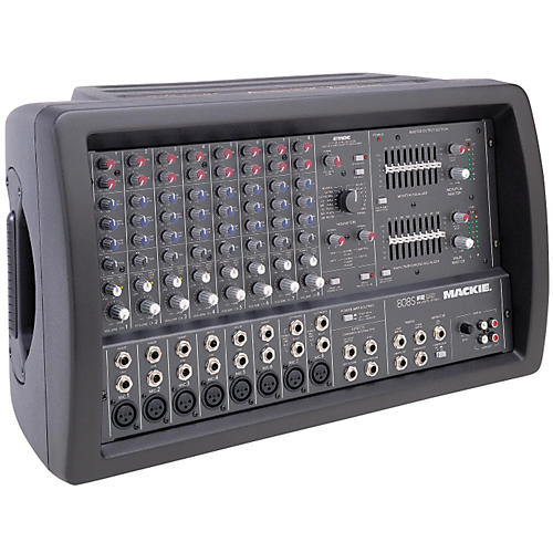 mackie 808s 8 channel stereo powered mixer musician 39 s friend
