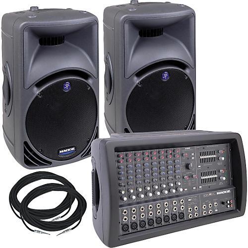 Mackie 808S & C300 Pair Package Special