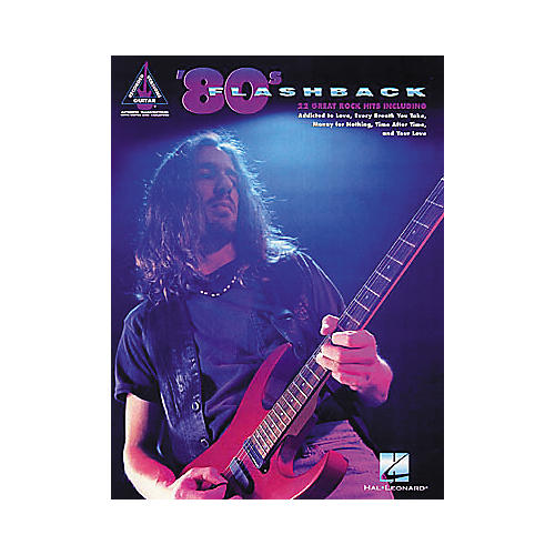 Hal Leonard 80s Flashback Guitar Tab Book