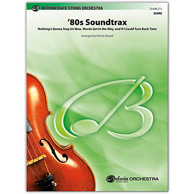 BELWIN 80s Soundtrax Conductor Score 2.5