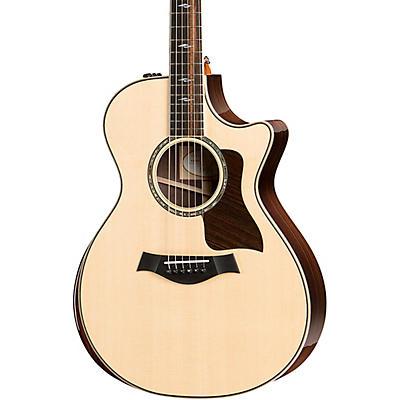 Taylor 812ce DLX V-Class Grand Concert Acoustic-Electric Guitar