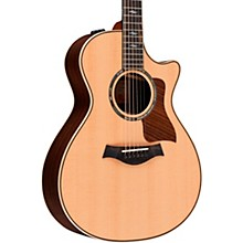 Taylor 812ce Grand Concert V-Class Acoustic-Electric Guitar