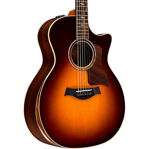 Taylor 814ce-SB Deluxe V-Class Grand Auditorium Acoustic-Electric Guitar Tobacco Sunburst