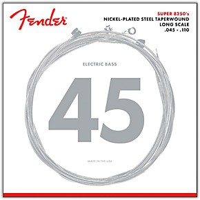 fender 8250m nickel plated steel taperwound bass strings medium musician 39 s friend. Black Bedroom Furniture Sets. Home Design Ideas