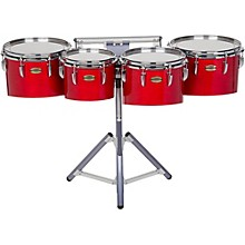 8300 Series Field-Corp Series Marching Tenor Quad 10, 12, 13 and 14 in. Red Forest