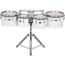 8300 Series Field-Corp Series Marching Tenor Quad 8/10/12/13 in. White wrap