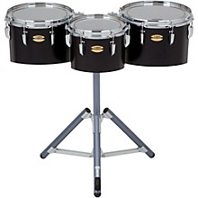 8300 Series Field-Corp Series Marching Tenor Trio 10, 12 and 13 in. Black Forest