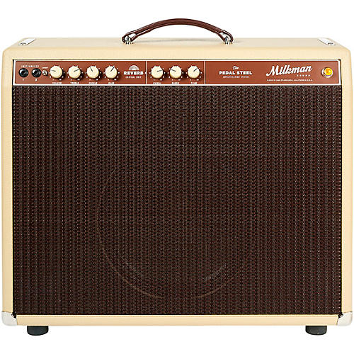 Milkman Sound 85W Pedal Steel 85W 1x12 Tube Guitar Combo Amp with Celestion Alnico Creamback Speaker Vanilla 12