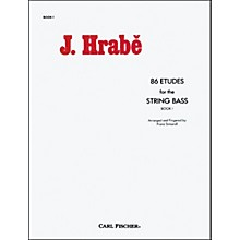 Carl Fischer 86 Etudes For The String Bass, Book 1