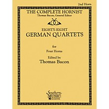 Southern 88 German Quartets (Horn Quartet - Horn 2) Southern Music Series Softcover Arranged by Thomas Bacon
