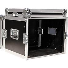 "Open BoxEurolite 8U 19"" Rack Mount Amp Case"